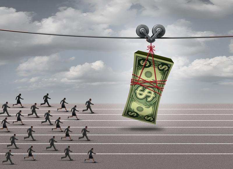 Chasing Dollar Bills Down the Road