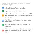 Arlo Smart Adds Some Nice Features and Enhancements