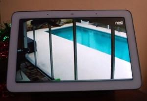 Google Nest Hub Live Video
