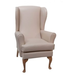 Adeline Orthopaedic Lounge Panaz Scratch resistant, www.homecarechairs.co.uk , high seat chairs, Fireside Chairs, high back chairs, wingback chair, elderly chairs.