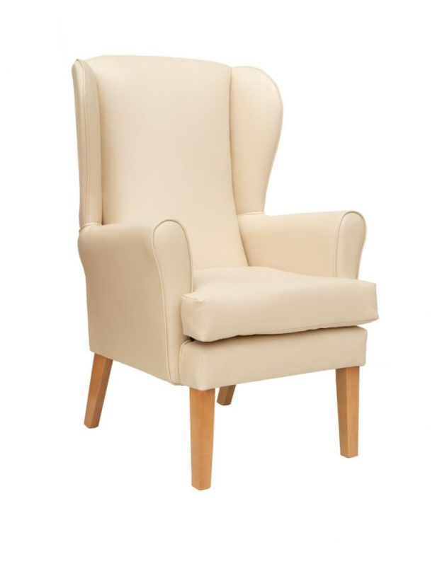 Alisson Orthopedic high seat chair in Manhattan vinyl