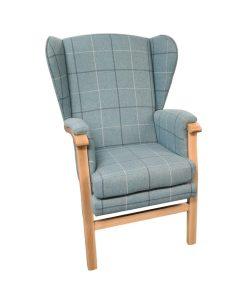 Wheaten padded orthopedic armchair