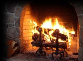 Logs-on-Open-Fires