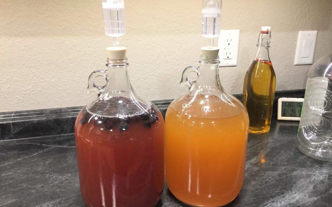 Homemade Berry Hard Cider Recipe