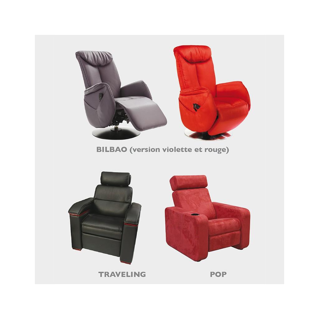 fauteuils de cinema ultra confort pour
