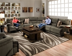 Riley 3 Piece Power Reclining Sectional by Catnapper ... on Riley 3 Piece Sectional Charleston id=12130