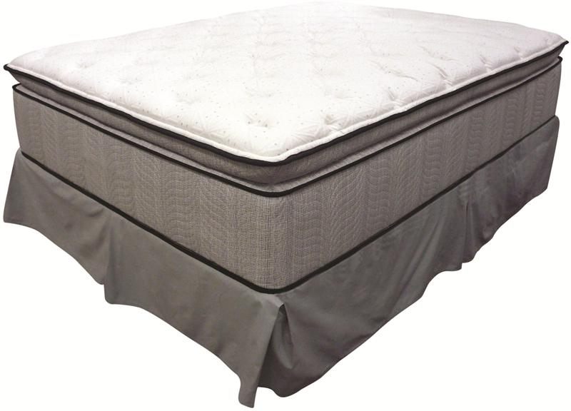 king koil spine support delaney e king jumbo pillow top mattress by coaster 350004ke