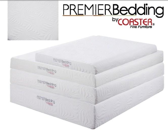 Premier Bedding 6 Inch Memory Foam Twin Size Mattress By Coaster 350062t