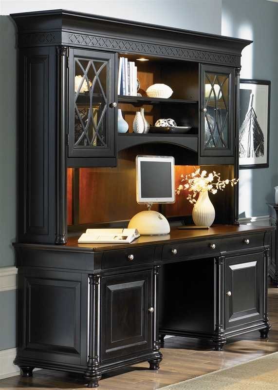 Furniture Office White Desk With File Cabinet Home