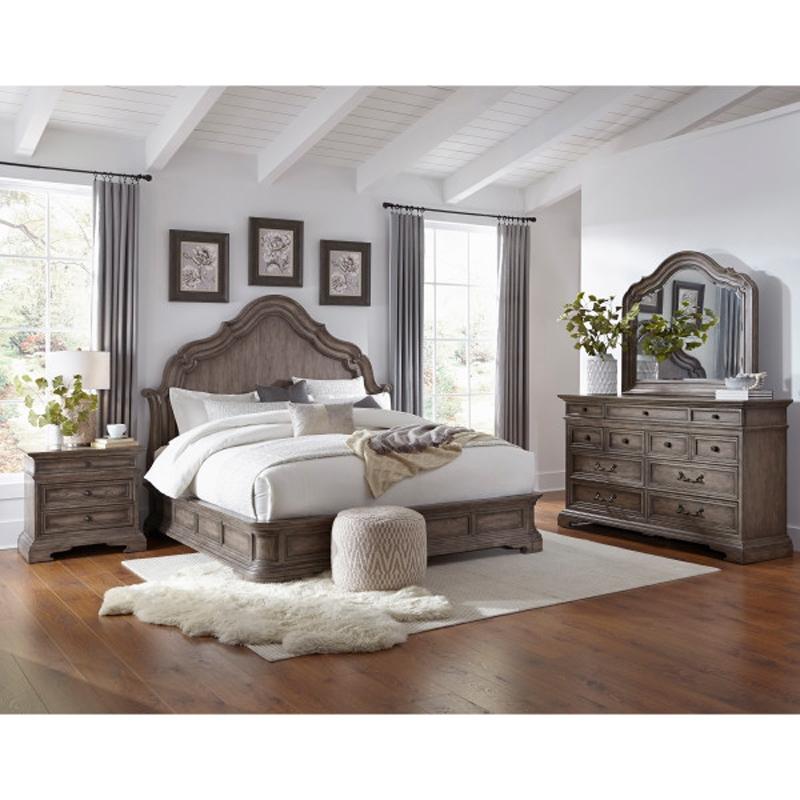 cordoba 6 piece bedroom set by pulaski pul p115150