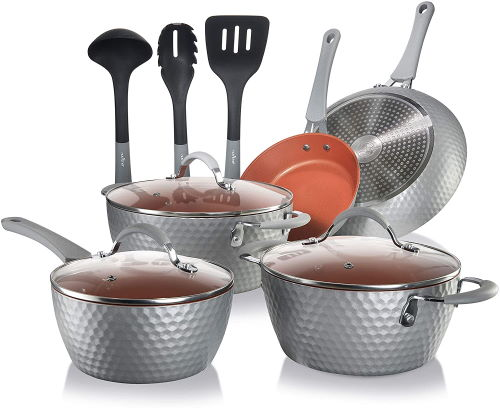 NutriChef Excilon nonstick cookware for induction