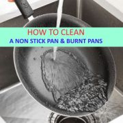 HOW TO CLEAN A NONSTICK PAN & BURNT PANS AND POTS