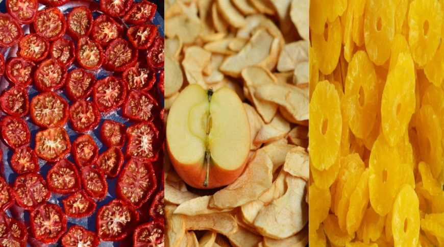 dehydrate vegetables at home