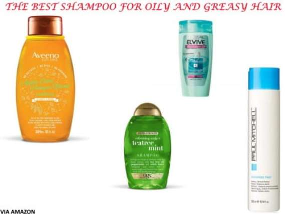 best shampoo for greasy oily hair