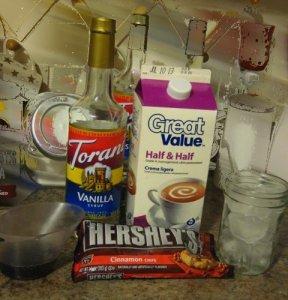Cinnamon Vanilla Frappuccino Ingredients