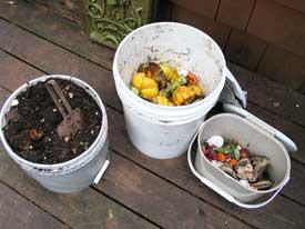 food bucket compost