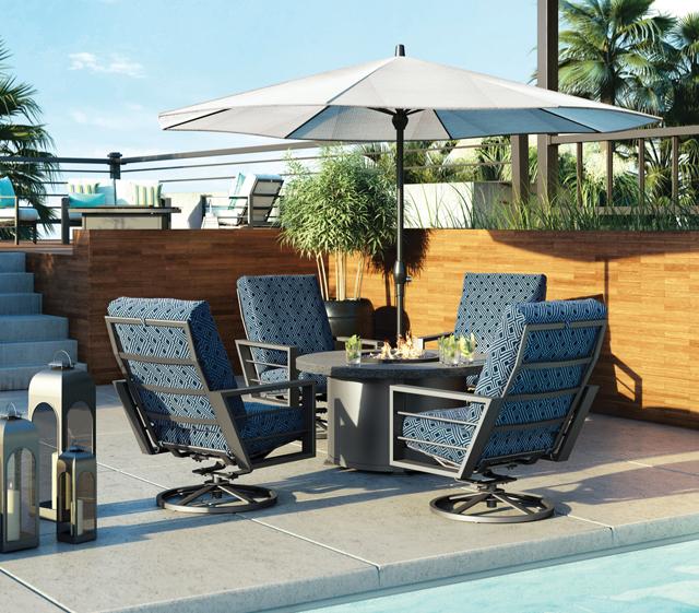 outdoor patio furniture shadow rock