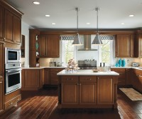 Kitchen with Maple Cabinets - Homecrest Cabinetry on Maple Cabinets Kitchen  id=90595