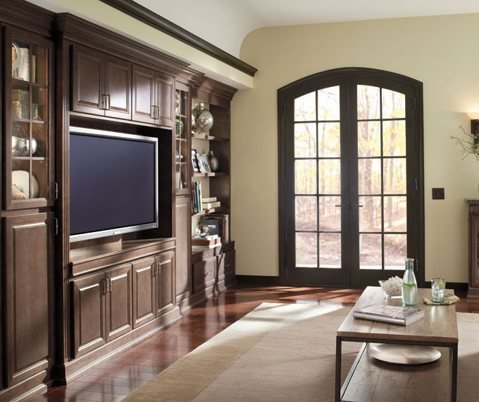 Living Room Storage Cabinets Homecrest Cabinetry