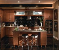 Contemporary Maple Kitchen Cabinets - Homecrest on Maple Cabinets Kitchen  id=25554