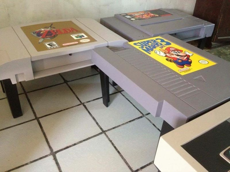 diy video game coffee tables designed