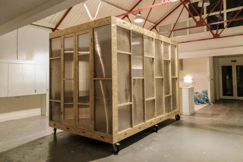 Studio Barks Indoor Modular Cabin Is Affordable Housing Solution