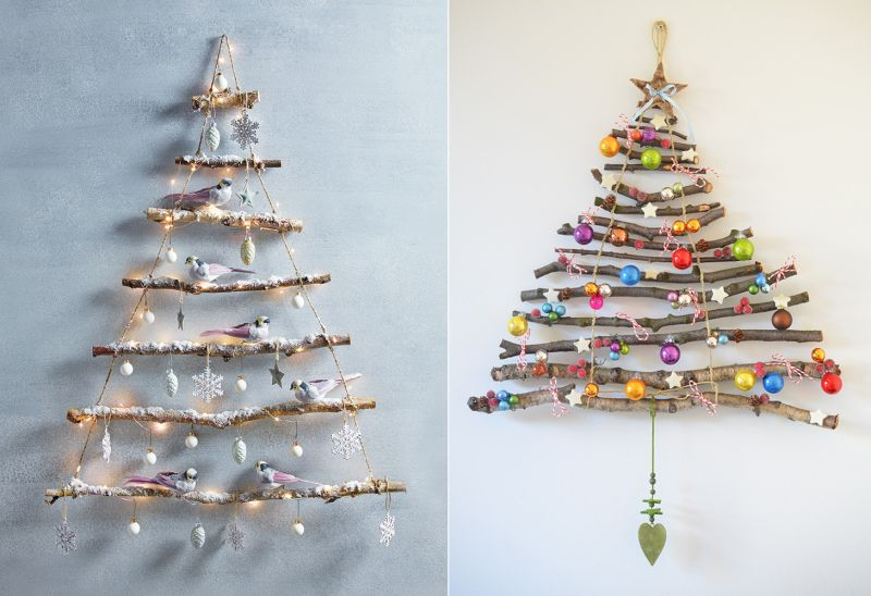 40 Alternative Christmas Tree Ideas For 2019 Diy Christmas Tree Ideas