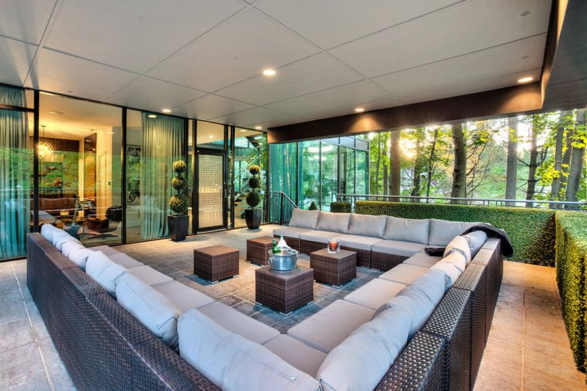 20+ Modern Glass House Designs and Pictures on Modern Glass House Design  id=71087