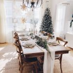 Christmas Dining Table Decoration Ideas Best Christmas Tablescape