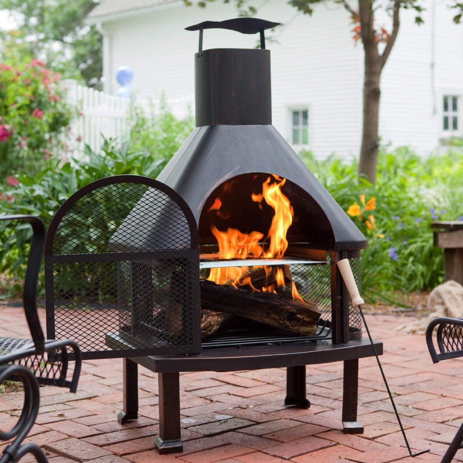 Outdoor Fire Pit Ideas For The Backyard | Home Decorator Shop on Fireplace In Yard  id=50226