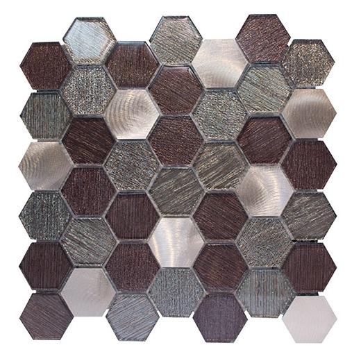 merola galaxy bronze hexagon tile g 142