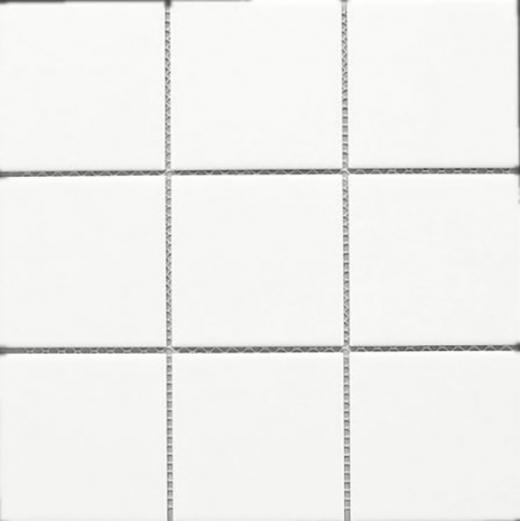 white square 4x4 porcelain mosaic tile matte jbtpm9 home decor az