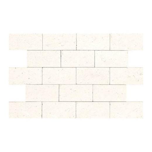 limestone blavet blanc 3x6 subway tile tumbled l340