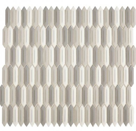 daltile rv14 revalia picket peaceful blend hexagon ceramic tile