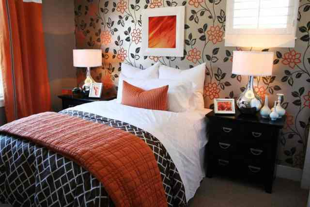 30 Awesome Orange Bedroom Ideas That Will Inspire You Home Decor Bliss