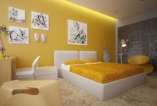 yellow bedroom designs, ideas, decor photos - home decor buzz
