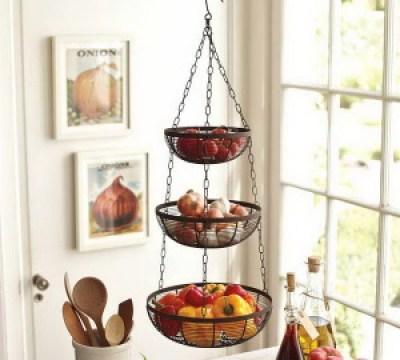 Vegetable hanging basket