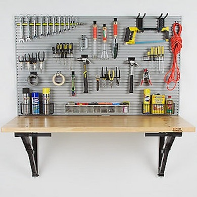 Garage Workbench Design Ideas