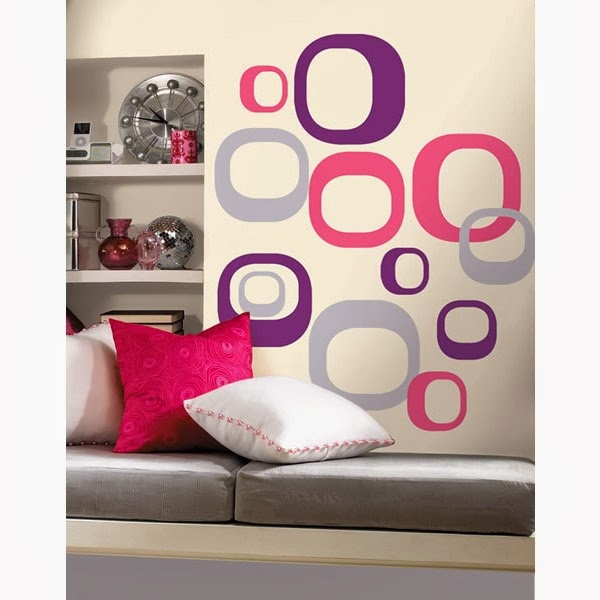 Wall Oval Stickers