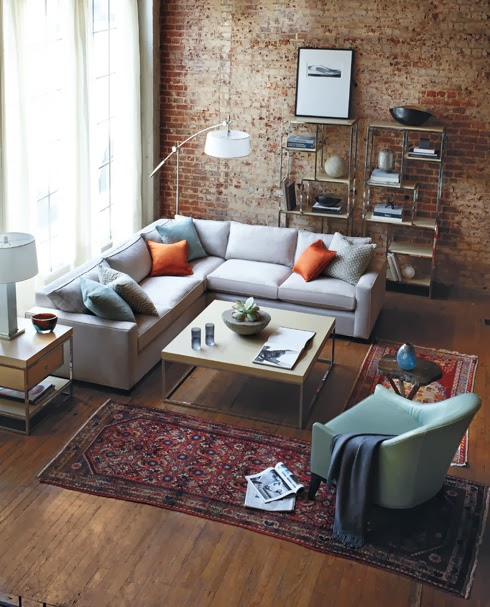 Cozy Grey Sectional Sofa