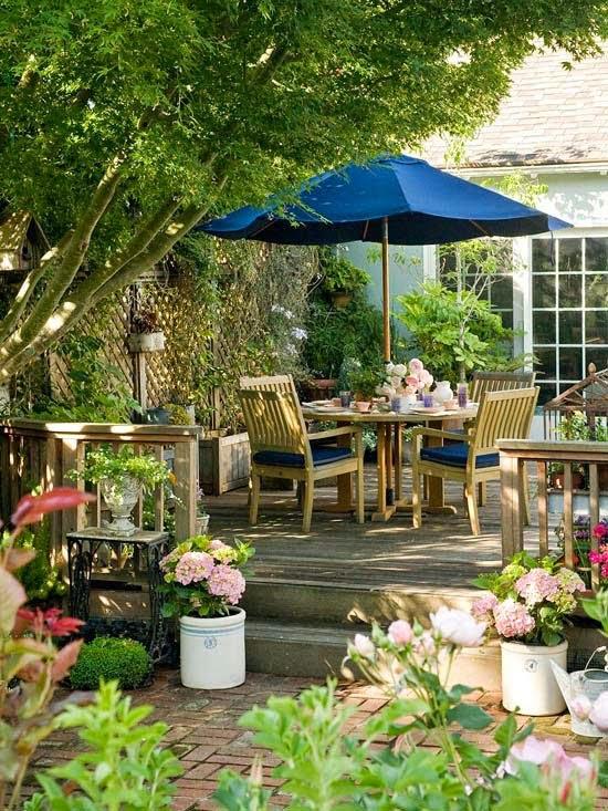 beautiful backyards, garden ideas on Beautiful Backyard Ideas  id=20007