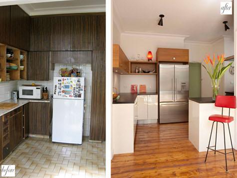 Tu sửa nhà bếp - Trước và Sau