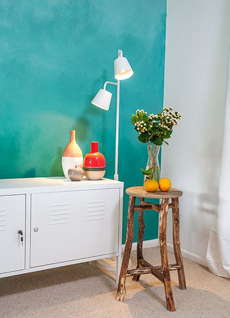 Creating A Feature Wall With Just Paint