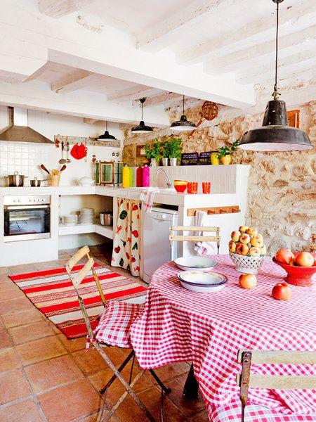 Nhà bếp sang trọng kiểu boho