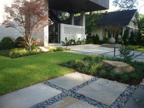 Front Yard Landscaping Ideas - Convert Bland Garden into ... on Modern Backyard Landscape Ideas id=57792