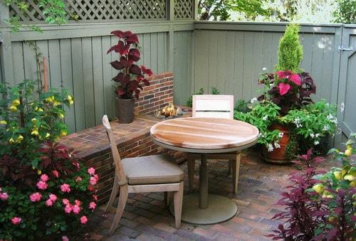 Easy Tips to Create Beautiful Small Backyard Patio Ideas ... on Small Townhouse Backyard Patio Ideas id=47342