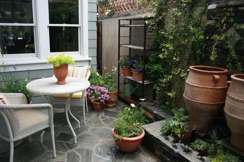 Easy Tips to Create Beautiful Small Backyard Patio Ideas ... on Side Patio Ideas id=12110