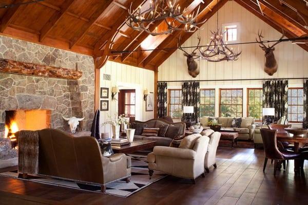 rustic interior decoration styles