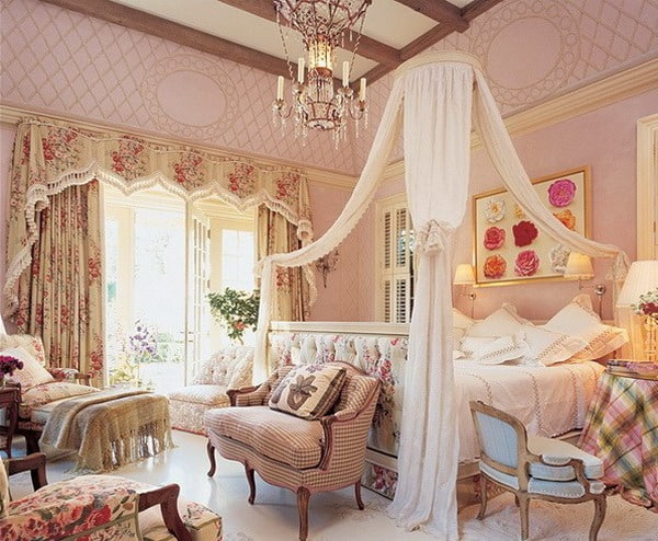 Vintage Romantic Interior Decoration