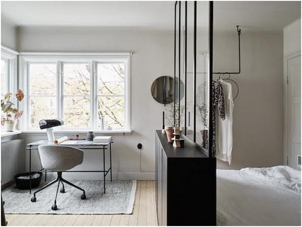 Nordic style small apartment design